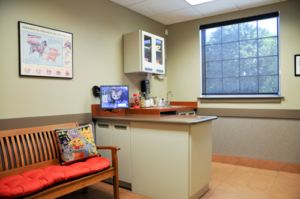Our exam rooms will make you feel at home.