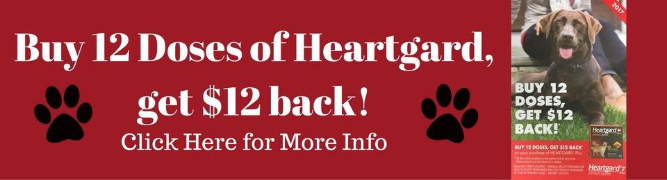 Buy 12 Doses of Heartgard, get $12 back!