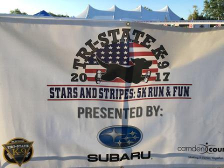 Tristate 5k fun run banner